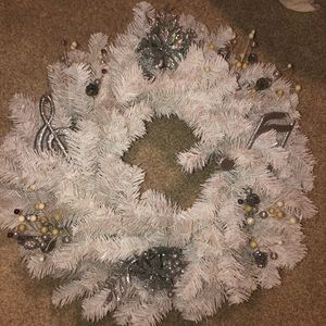 Music Note Christmas Wreath